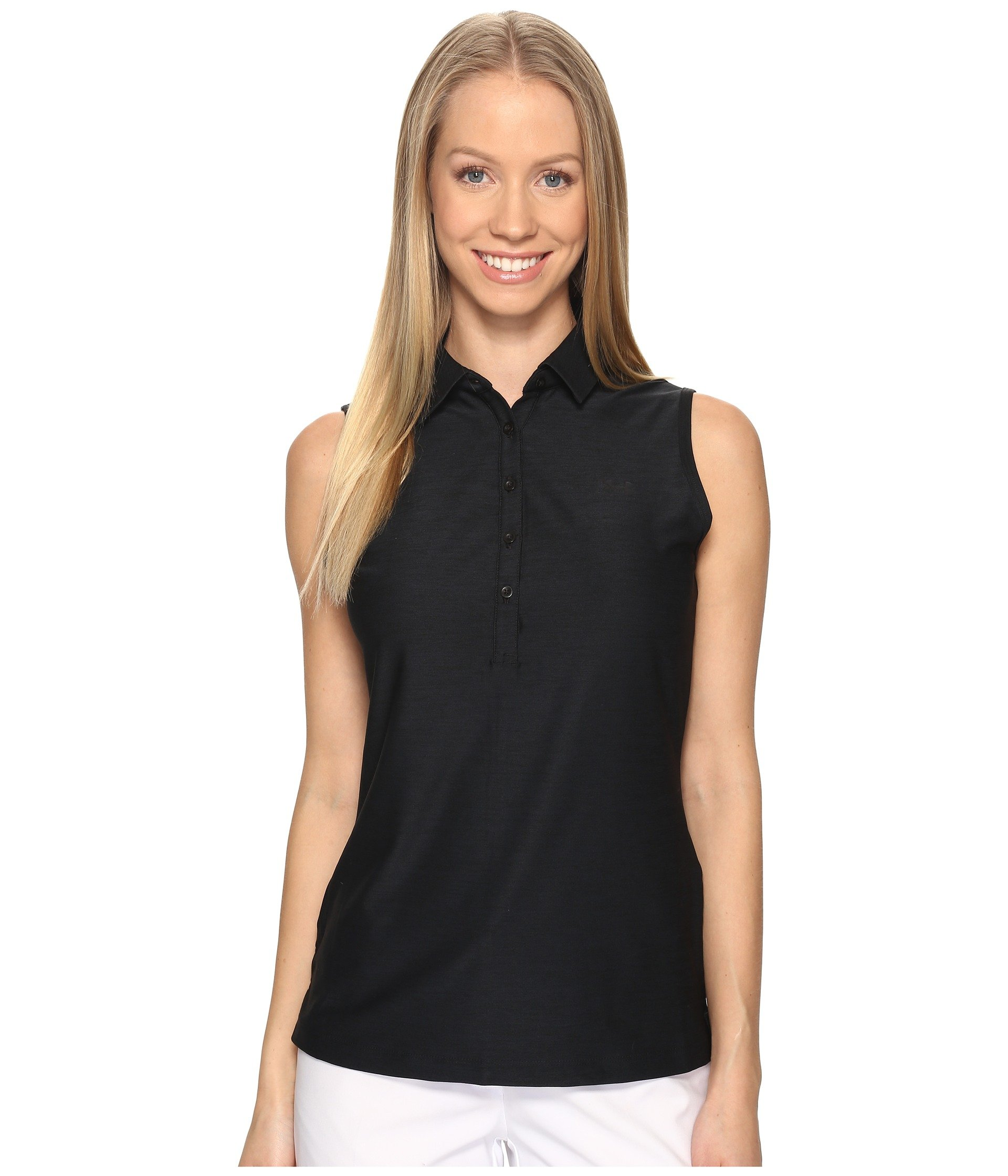 Camiseta Tipo Polo para Mujer Under Armour Golf Zinger Sleeveless Polo  + Under Armour en VeoyCompro.net