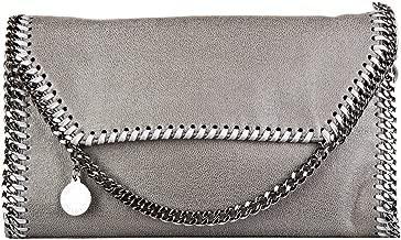 Stella Mccartney women's shoulder bag original mini shaggy deer grey