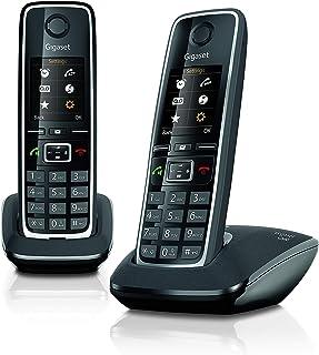 Gigaset C560 Duo – twee draadloze telefoons voor oproepen, overdracht van oproepen, beltonen en telefoonboek, personalisee...