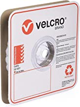 VELCRO Brand Industrial Strength VELCOINS Stick On Fastener - Loop Side Only with Pressure Sensitive Adhesive 0172 - Heavy...