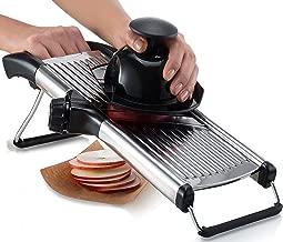 Gourmia GMS9105 Adjustable Stainless Steel Mandoline Slicer Dial-Style Kitchen Slicer..