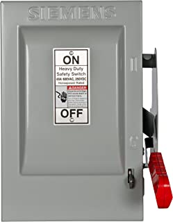 Siemens HNF362H 60-Amp 3 Pole 600-volt Non-Fused Heavy Duty Safety Switches
