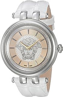 Versace Women's VQE010015 Khai Analog Display Quartz White Watch