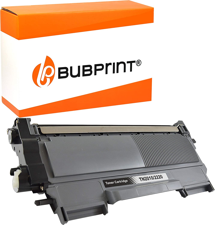 Bubprint Cartucho Tóner Compatible para Brother TN-2220 para DCP-7055 DCP-7055W DCP-7065DN HL-2130 HL-2135W HL-2240 HL-2240D HL-2250 HL-2250DN MFC-7360 MFC-7360N MFC-7460DN MFC-7860DW Fax 2840 Negro