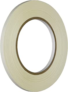 """1.5 in. core 4 Rolls 2/"""" x 108 ft White Vinyl Tape LOW ADHESION Dance Tape"""