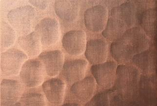 SINDA Copper Color(Patina) Sample for Copper Range Hood, Copper Kitchen Sink (Antique Copper-Light Hammered)