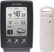 AcuRite 00829 Digital Weather Station with Forecast/Temperature/Clock/Moon Phase by AcuRite