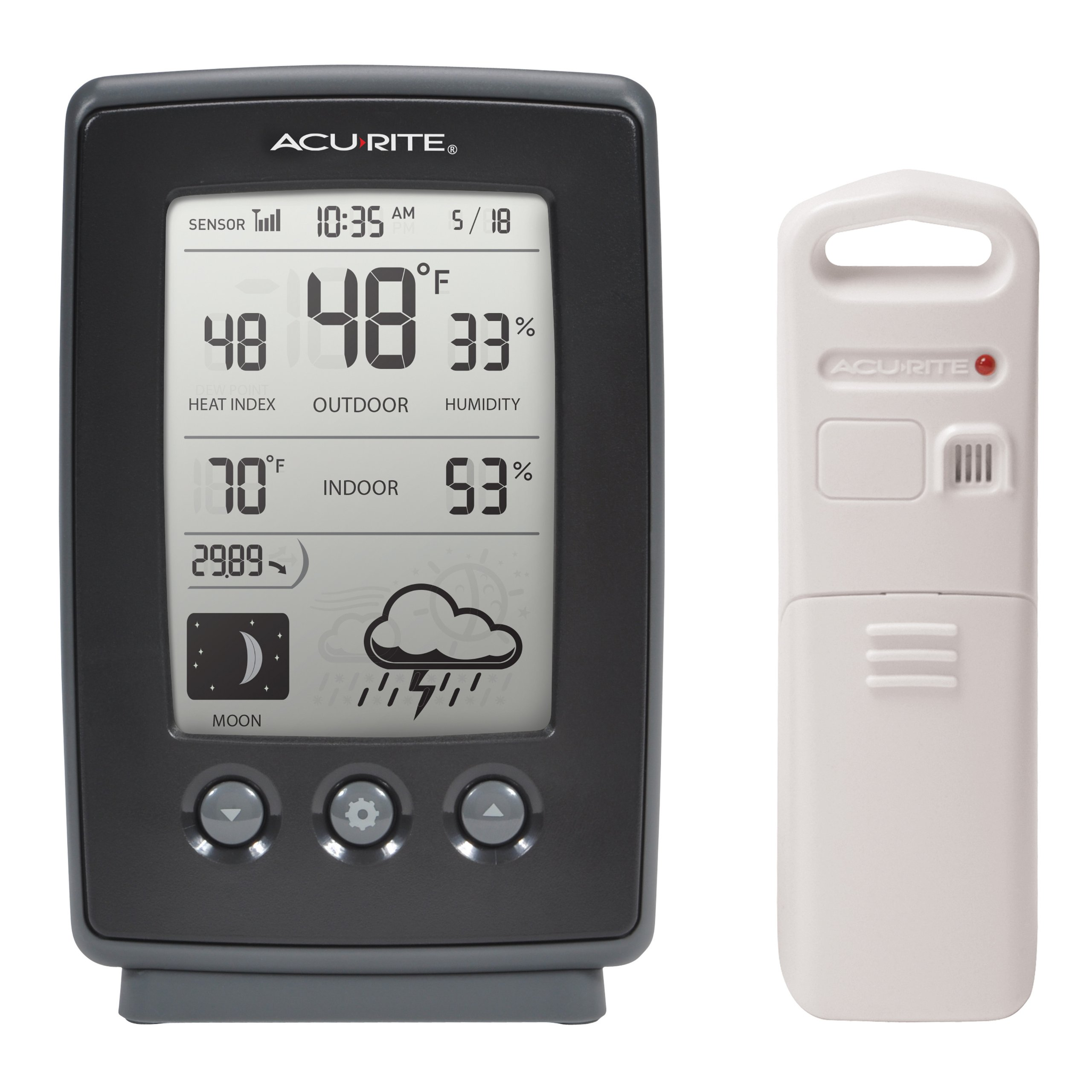 AcuRite 00829 Digital Forecast Temperature