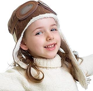 کلاه گرم کلاه گرم پیل پرواز Pilot Aviator با گوشواره مخصوص کودکان با استایل