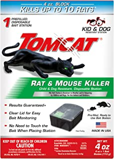 Best tomcat mouse killer child & dog resistant disposable station Reviews