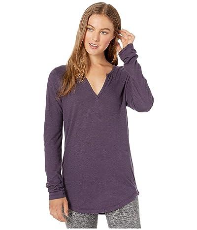 tentree Moraine Long Sleeve Top (Aubergine Purple) Women