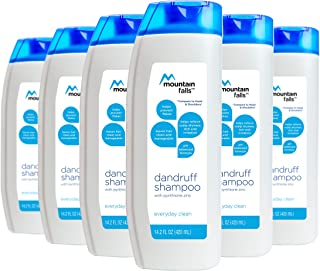 Mountain Falls Dandruff Shampoo, Everyday Clean, 14.2 Fluid Ounce (Pack of 6)