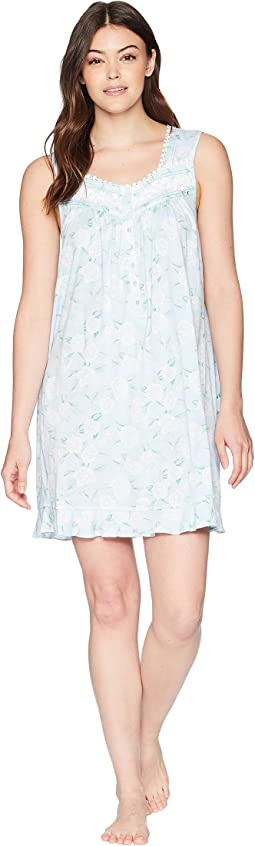 Eileen West - Floral Short Chemise