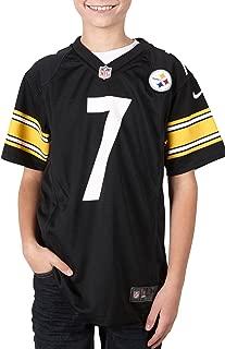 Nike Ben Roethlisberger Pittsburgh Steelers NFL Youth Black Game Jersey