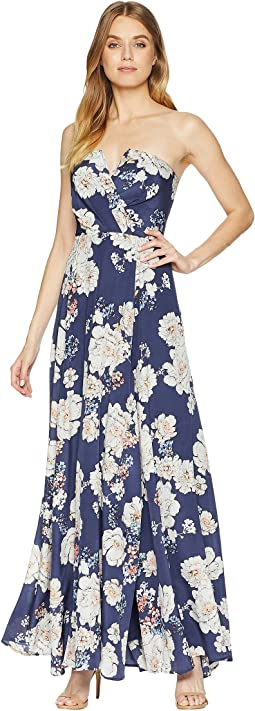3ae7a0e898e Matte jersey printed maxi dress celestial birch multi