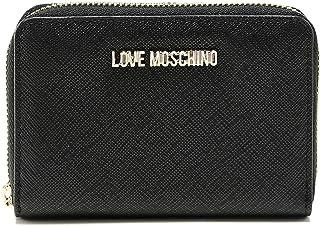 c879257564 Love Moschino Moschino Donna piccola cerniera intorno al portafoglio Nero