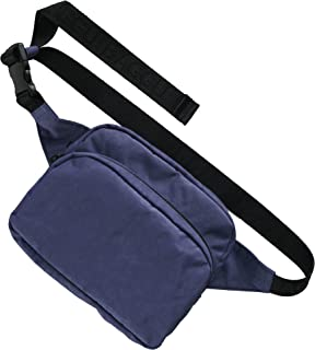 BAGGU Fanny Pack, Fashion Forward and Easy to Carry, Ink,