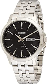 Citizen Mens Quartz Watch, Analog Display and Stainless Steel Strap BF2011-51EE