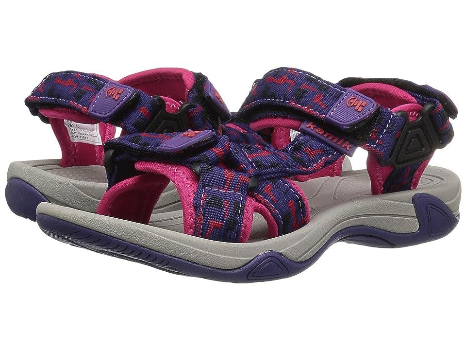 Kamik Kids Lowtide 2 (Little Kid/Big Kid) (Purple) Girls Shoes