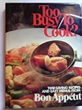 to busy to cook