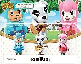 Animal Crossing Series 3-Pack Amiibo (Animal Crossing Series) (Renewed)