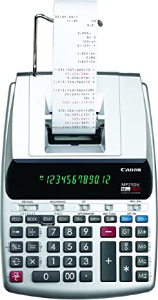 $63 » Canon Office Products 2202C001 Canon MP25DV-3 Desktop Printing Calculator with Currency Conversion, Clock & Calendar