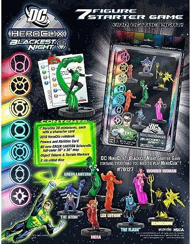 Wizkids   NECA 70127 - DC HeroClix schwarzest Night Starter Game