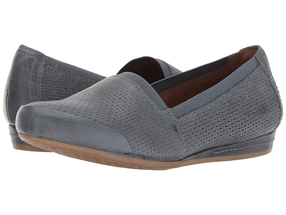 Rockport Cobb Hill Collection Cobb Hill Galway Perforated Gigi (Blue Nubuck) Women