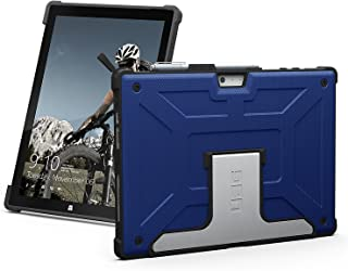URBAN ARMOR GEAR UAG Microsoft Surface Pro 6/Surface Pro 5th Gen (2017)/Surface Pro 4 Feather-Light Rugged [Cobalt] Aluminum Stand Military Drop Tested Case