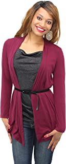 AGB Top, Long Sleeve Belted Layered Look