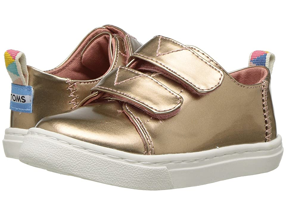 TOMS Kids Lenny (Infant/Toddler/Little Kid) (Rose Gold Specchio) Girl