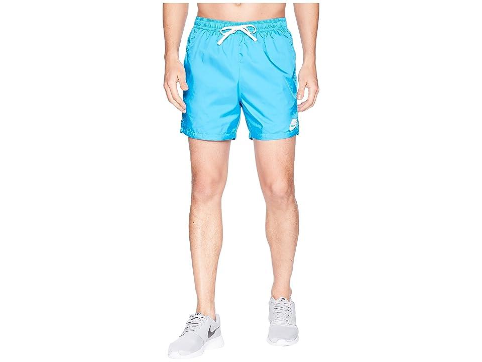 Nike Woven Flow Short (Equator Blue/White/White) Men