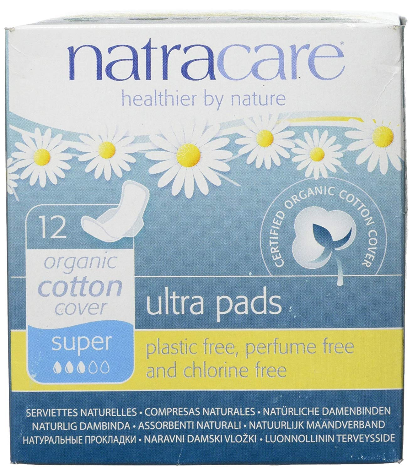 Natracare Very popular Natural Ultra Pads Super With Pack All stores are sold 12s Wings 3 of