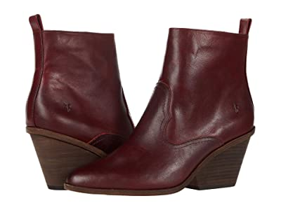 Frye Amado Wedge (Red Antique Pull-Up) Women