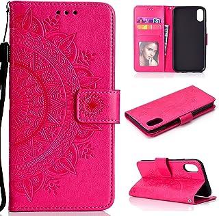 LODROC Lederen Portemonnee Case voor Xiaomi Redmi Note 7/Note 7Pro/Note 7S, [Kickstand Feature] Luxe PU Lederen Portemonne...