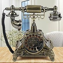 $58 » Sponsored Ad - European Style Old Retro Phone Desk Phone Antique Design Landline Telephone Vintage Decorative Telephone Ol...