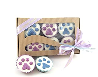 Easter Wheat Free Dog treats Peanut Butter Cups Gift Wrapped Handmade Gourmet Dog Treats Decorated Candy