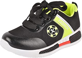 Yellow Bee Sneakers for Boys, Green