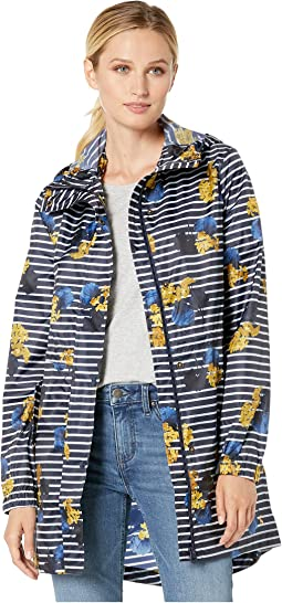 Navy Lilypad Stripe