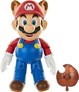 """World of Nintendo  Raccoon Mario 4"""" Action Figure"""
