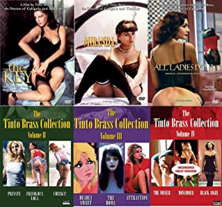 Tinto Brass Collection 12-DVD Bundle - All Ladies Do It, Miranda, The Key, Cheeky, Monamour, Private, Black Angel, Cheeky, Frivolous Lola, Deadly Sweet, The Howl, Attraction