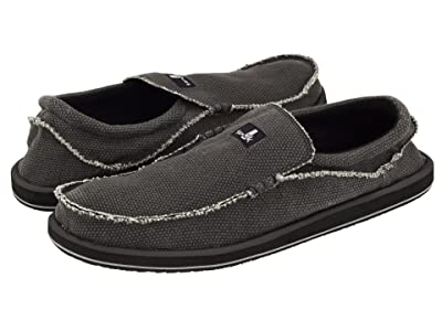 Sanuk Chiba Big Tall (Black) Men