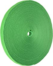 iMBAPrice Green Cable Fastening Tape - 0.75 inch Single Wrap Hook & Loop (75 feet) 25 Yards Long