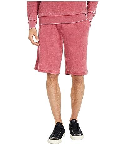 Alternative Throwback Burnout Shorts (Fig/Ivory) Men