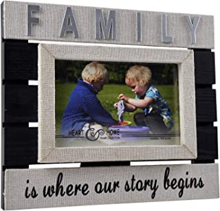 Spiretro 6x4 inch 3D Raised Wood Framed Picture with Easel & Plexiglass, Memorial Family, Pet Dog and Cat, Tabletop Displa...