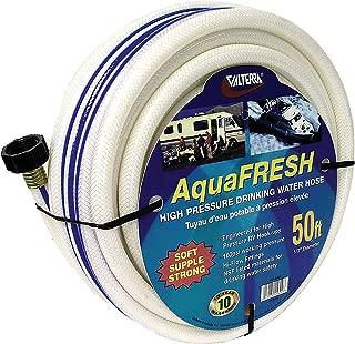 Valterra 1/2 Inch x 50 feet W01-5600 AquaFresh High Pressure Drinking Water Hose-1/2 x 50', White