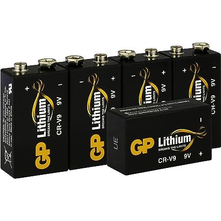 Gp Lithium 9v Block Batterien 9 Volt Lithium Li Mno2 Elektronik