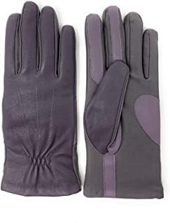 Isotoner Signature Sleek Heat Leather Nylon Womens SmartTouch Gloves