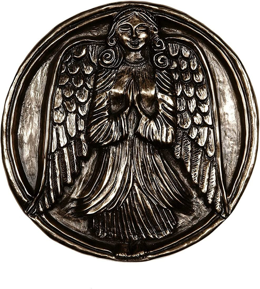 Max 84% OFF Irish Guardian Angel of Home and Family Wall Wild Super sale period limited Decor Bronze G