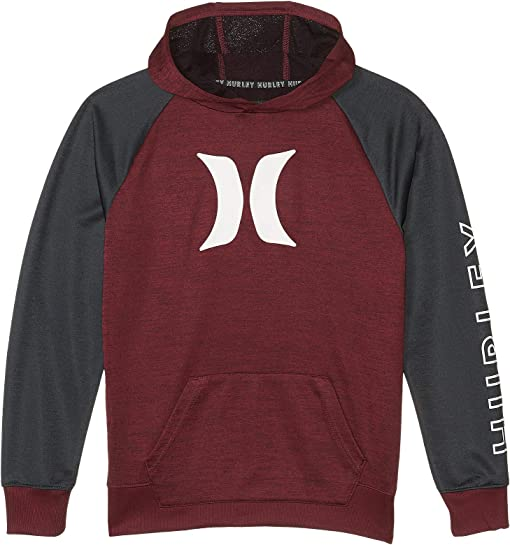 Deep Maroon Heather